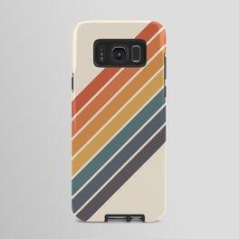 Arida -  70s Summer Style Retro Stripes Android Case