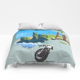 Devon England map Comforters