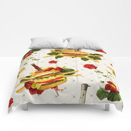 cheeseburger in gangstas paradise Comforters