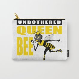 Unbothered Queen Bee Carry-All Pouch