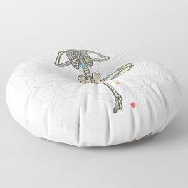 Yoga skeleton Best Gift Floor Pillow
