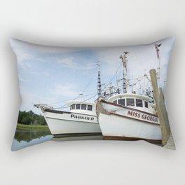 McClellanville Shrimpers Rectangular Pillow