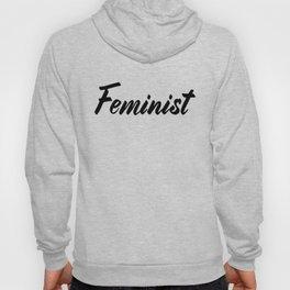 Feminist (on white) Hoody
