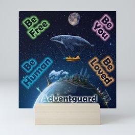 Advent Guard Earth Tranquil Whale Aspect Mini Art Print