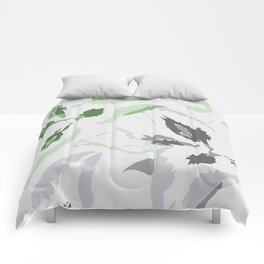 FLORAL ABSTRACTION 2 Comforters