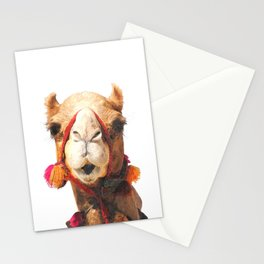 Camel Portrait Stationery Cards