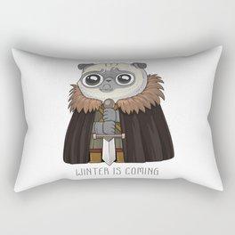 winter Is puging Rectangular Pillow