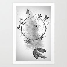 Dream. Art Print