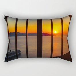 Gorgeous sunset Rectangular Pillow