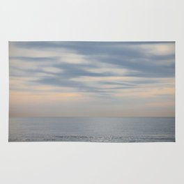 Morning at the ocean Rug