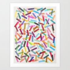 fiesta 1 Art Print