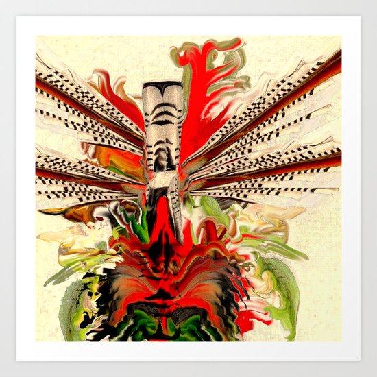fleuratotemtale' Art Print