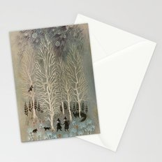 White Woods Stationery Cards