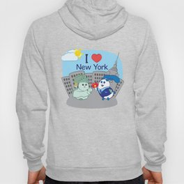 Ernest and Coraline | I love New York Hoody