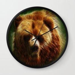 The Bear Spirit Wall Clock