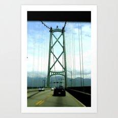 Vancouver Art Print