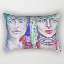 Protectors of Peace & Beauty Rectangular Pillow