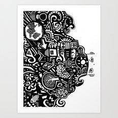 thought Art Print