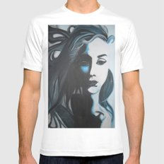 Women In Blue Mens Fitted Tee White MEDIUM