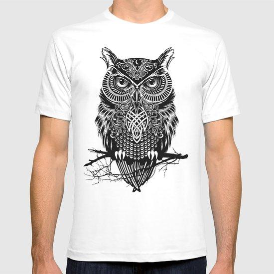 Warrior Owl 2 T-shirt