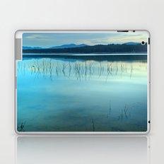 Blue sunset at the lake Laptop & iPad Skin