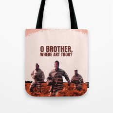 O Brother, Where Art Thou Movie Poster  Tote Bag