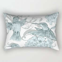 VINTAGE BIRDS Rectangular Pillow