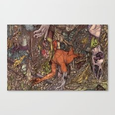 Born Canvas Print