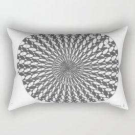 spiral 7 Rectangular Pillow