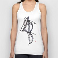 cello Tank Tops featuring Cello by Myles Hunt