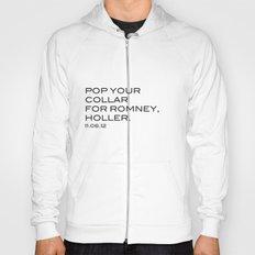Pop your collar Hoody