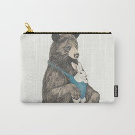 the bear au pair Carry-All Pouch