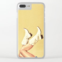 These Boots Clear iPhone Case