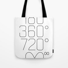Shapes & Angles Tote Bag