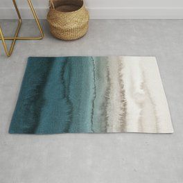 WITHIN THE TIDES - CRASHING WAVES TEAL Rug