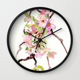 Cherry Blossom Branch, Sakura Blossom Wall Clock