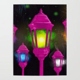 Elemental Luminaries Poster