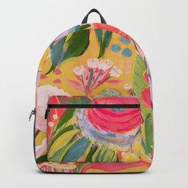 Cake flowers Backpack