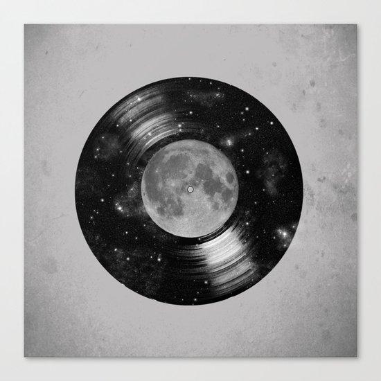 Galaxy Tunes Canvas Print