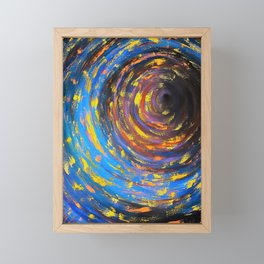 Black Hole Framed Mini Art Print