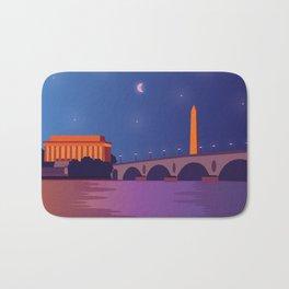 Lincoln Memorial Bath Mat