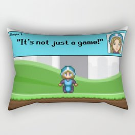 It's not just a Game! [Female Version 1] Rectangular Pillow