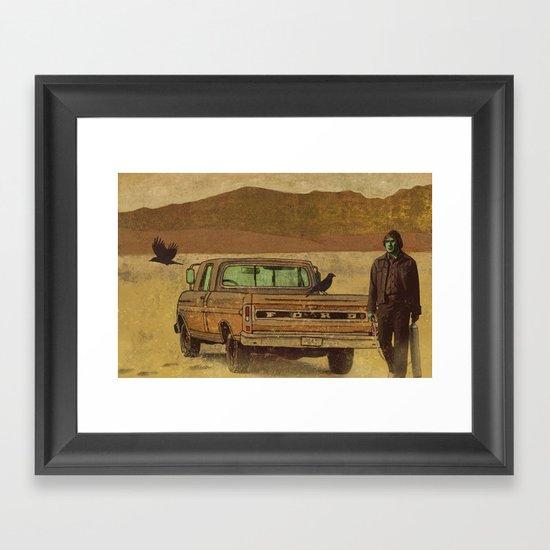 No Country  Framed Art Print