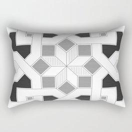 Oriental Pattern - Geometric Design - lines Rectangular Pillow