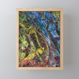 Colour Fall Framed Mini Art Print