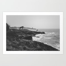 The wild landscape Art Print