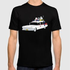 Ecto-1 X-LARGE Black Mens Fitted Tee