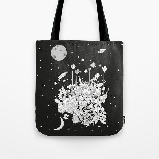 Comic World Tote Bag