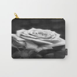 Pink Roses in Anzures 3 B&W Carry-All Pouch