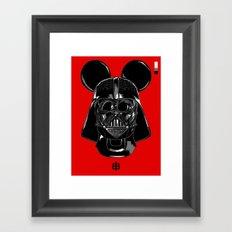 Cayenne Pepper — Vador Mouse Framed Art Print